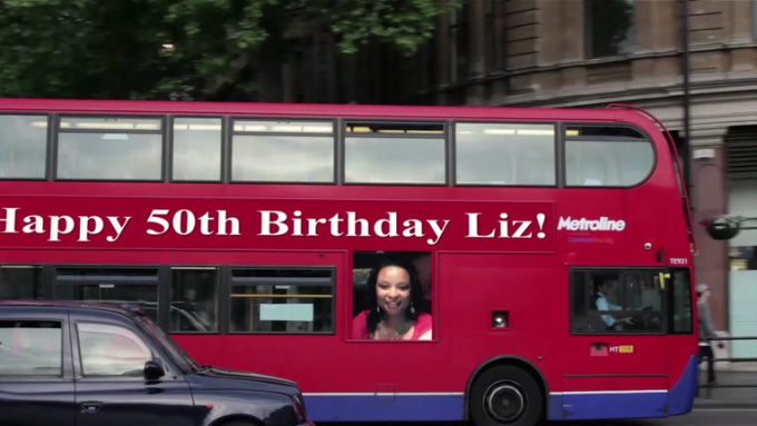 Happy 50th Birthday Liz video