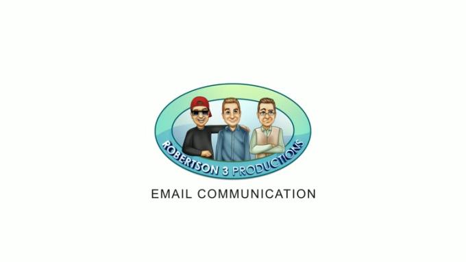 Robertson_Email_Communication