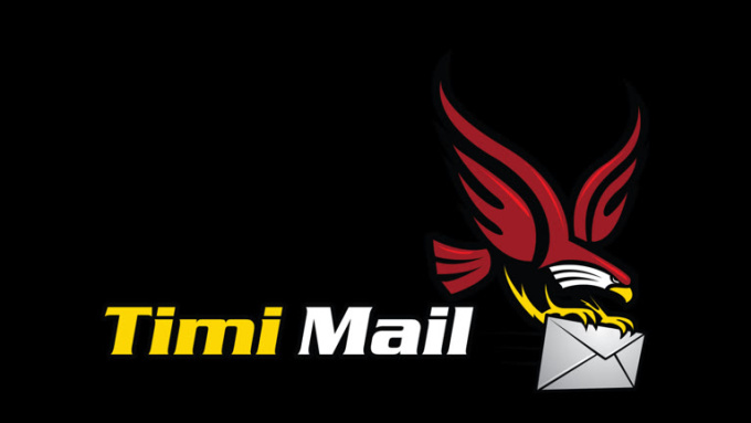 timimail with tranparant background