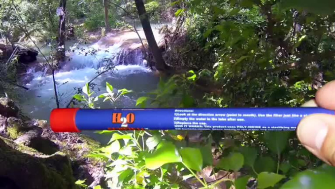 H2O Survival - Water Filter Travel Straw MODIFIED