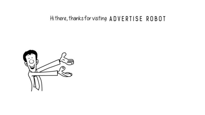 ADVERTISE ROBOT
