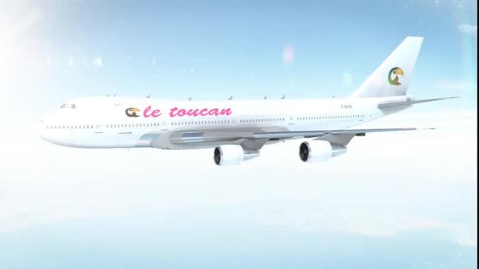 Plane Animation_Le toucan