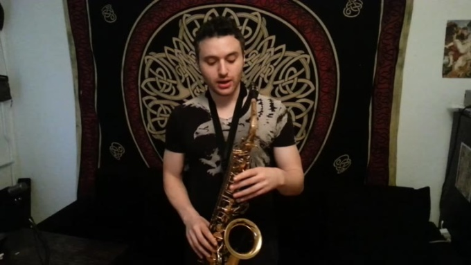 Sax lesson2