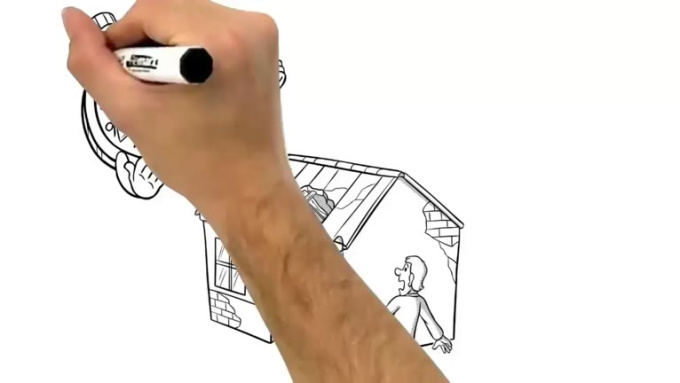 Roof Repair Whiteboard Video