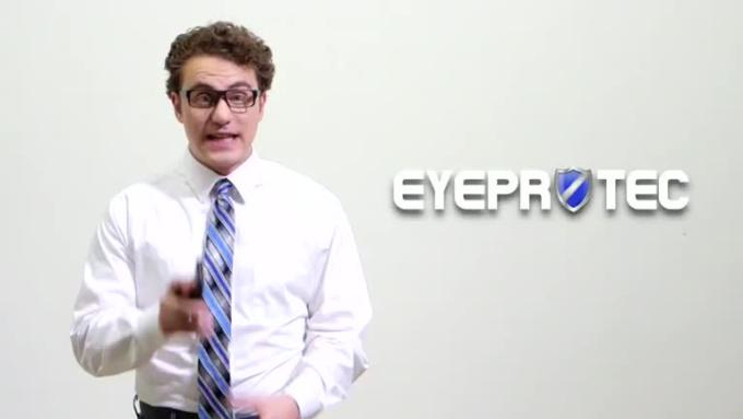 iPhone App Video - EyeProtec