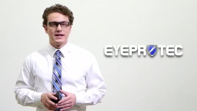 iPhone App Video - EyeProtec Alert