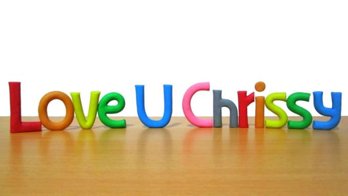 Love U Chrissy