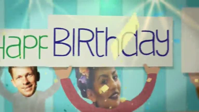 Birthday Gift Video for Silvia in 720p HD High Quality