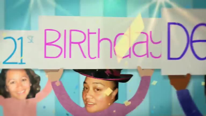 Birthday Wish video for Destiny in 1080p full HD High Quality modified