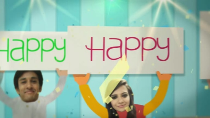 Birthday Wish Video for Fuad in 720p HD High Quality