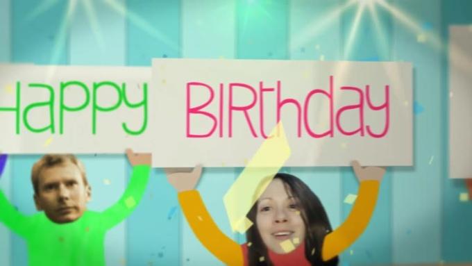 Birthday Wish Video to Ella in 720p HD High Quality