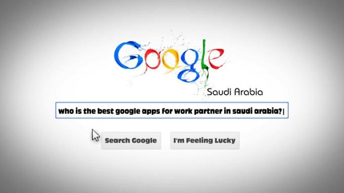 google search animation