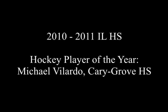 IL HS Hockey Player - Michael Vilardo