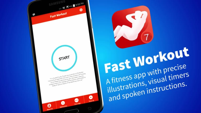 Fast Workout Android short FULL HD
