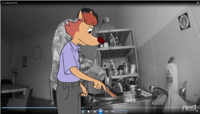 Fox_stirring in pan