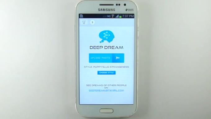 Deep Dream Photo Filter