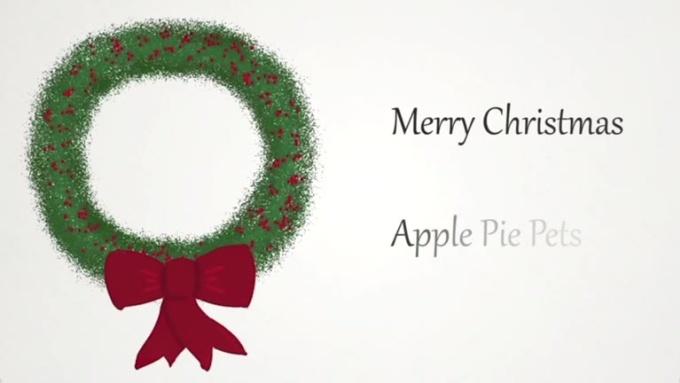 holiday wreath ecard - karenprobst