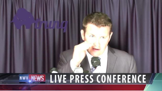 trunq press conference