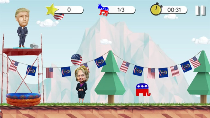 The 2016 Elections Game