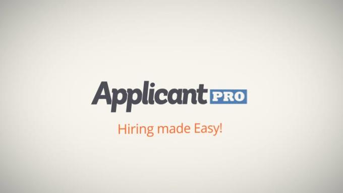 Applicant Intro 1