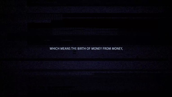 which means the birth of money from money,