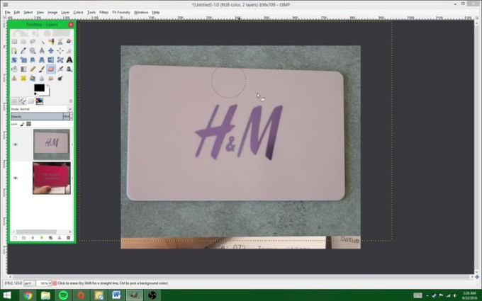 Gift Card Tutorial
