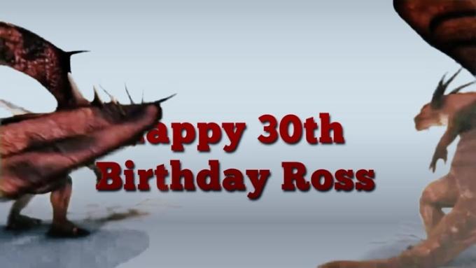 dragons Happy 30th Birthday Ross 720p