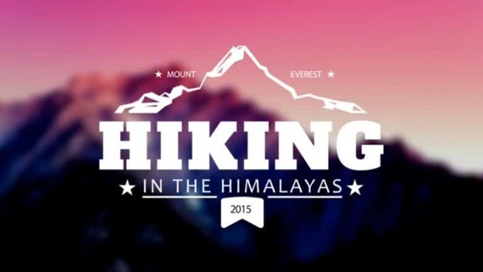 Hiking-vintage-logo