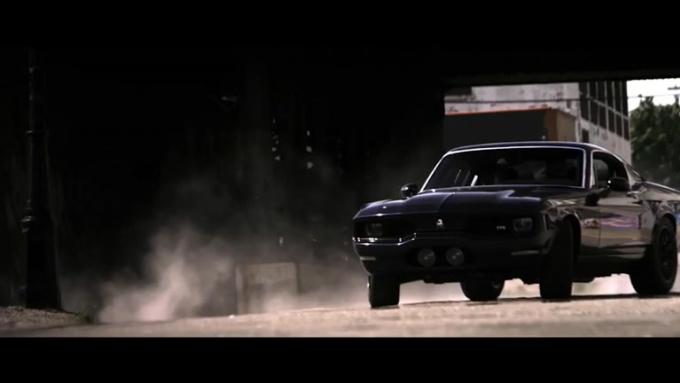 fullstarproduct Action scene Muscle car done