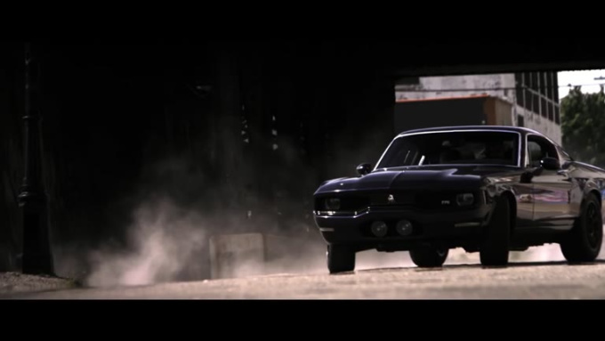 kenwoods Action scene Muscle car done