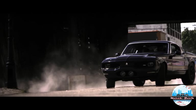 gliwice Action scene Muscle car done