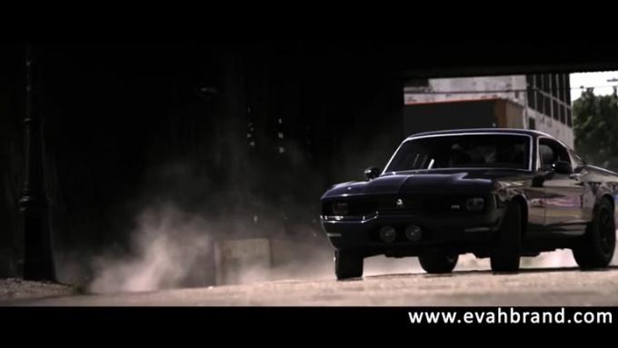 cindymcknight Action scene Muscle car done