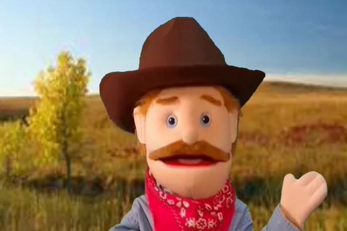 Maayans Cowboy Invatation 2