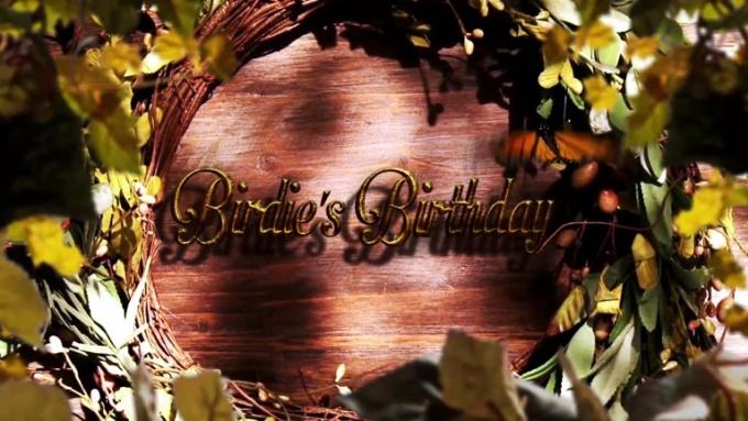 birthday HD video