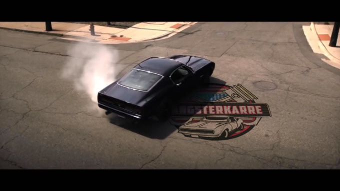 muscle car edit2 logo GangsterKarre 1080p