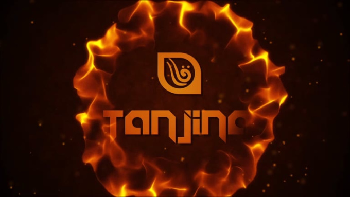 Tanjina Logo Reveal 1 with sound