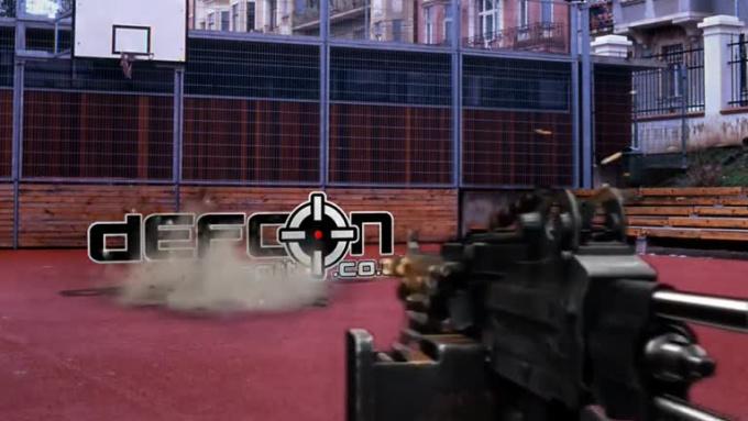 machinegun DefconAirsoft 720p