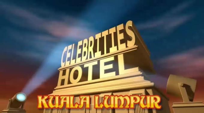 celebrity hotel commercial