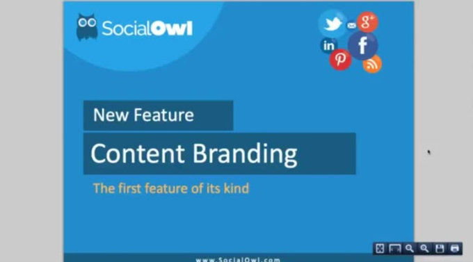Content Banner - New Feature from Social Owl on Vimeo