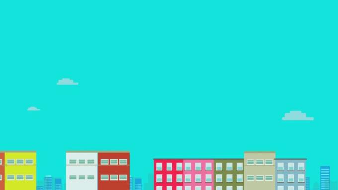 Real Estate Intro logo video