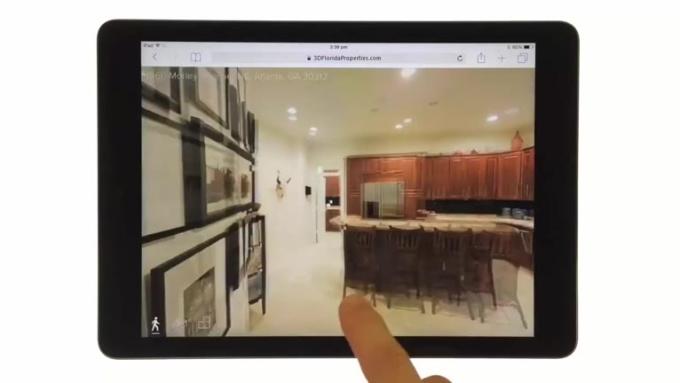 Matterport 3D Showcase iPad