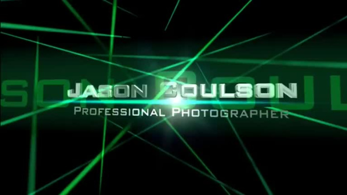 Cinematic Video Intro - Jason Coulson - Green