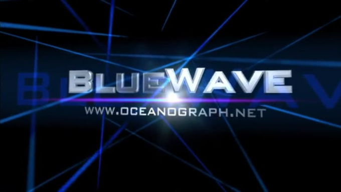 Cinema Intro - BlueWave - Blue