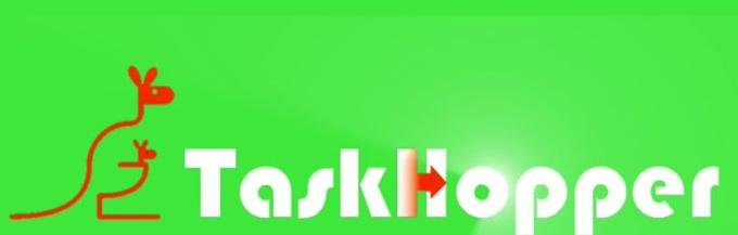 TaskHopper White Text