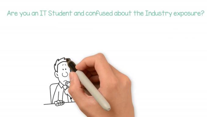 IT Student Whiteboard Animation