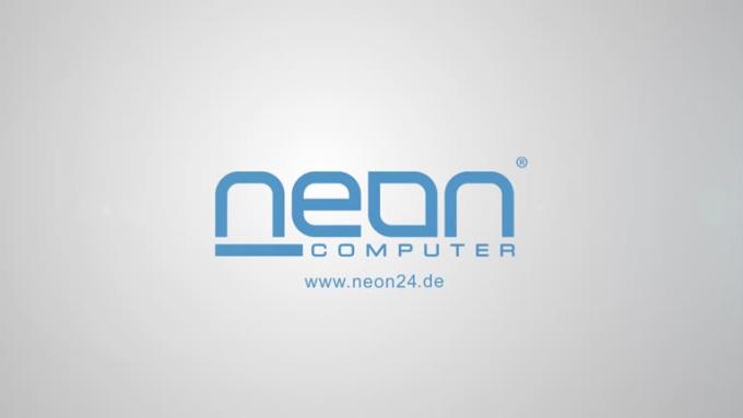 Neon24 Clean Logo Reveal