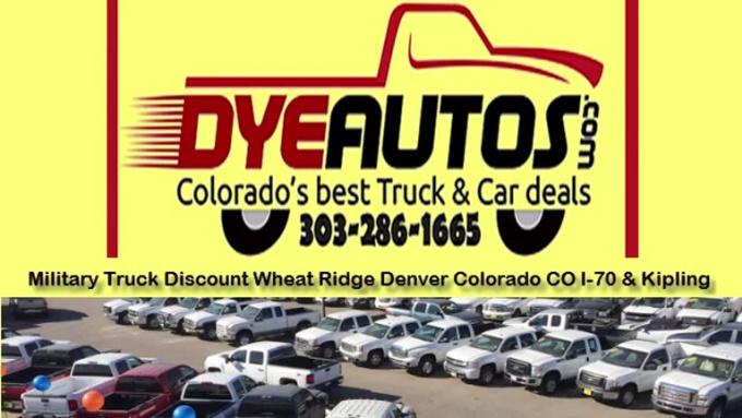Military Truck Discount Wheat Ridge Denver Colorado