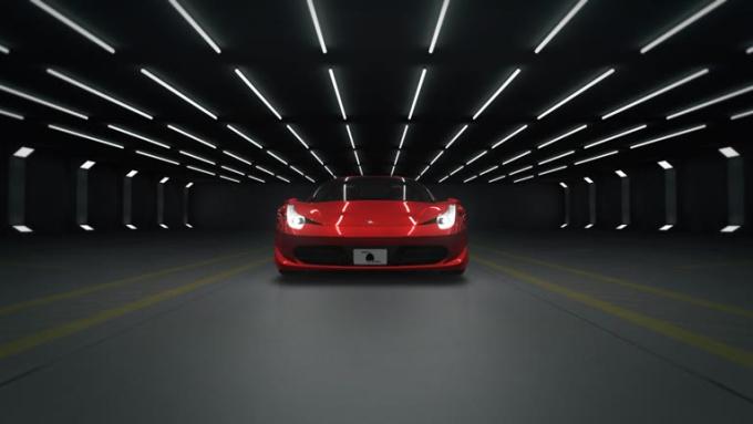 car logo opener animation