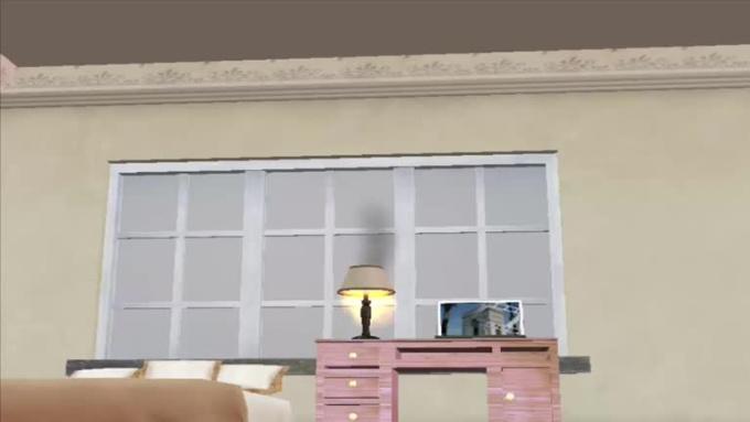 Worm Eye View Bedroom