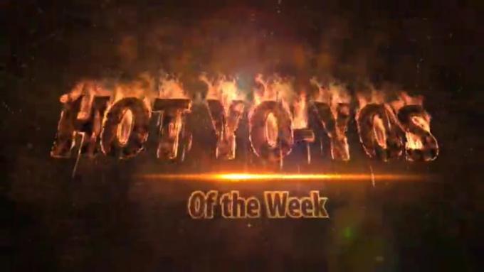 Flaming Fire Intro - Hot Yo-Yos - HD